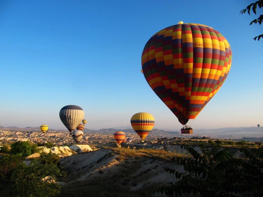 007 - Horkovzdusne balony v Kappadokii v centralnim Turecku