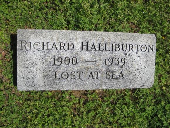 Richard_Halliburton_gravemarker_Forest_Hill_Cemetery