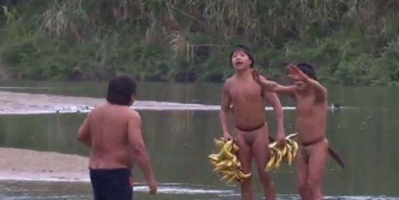 Índios isolados - 1º contato no Acre