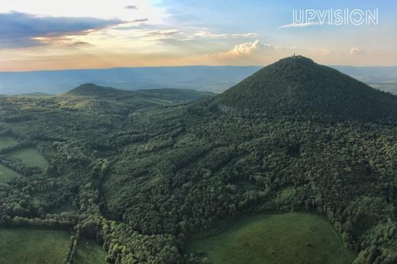 Milešovka, nejvyšší hora Českého středohoří
