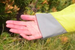 Detail pružného zakončení rukávu (Vertin).