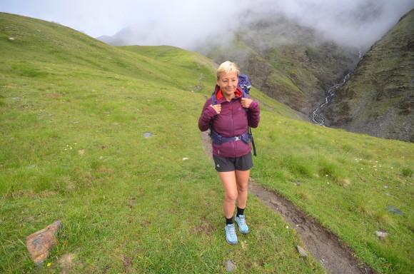Díky kvalitnímu odpružení z bot nebolí nohy ani po mnoha kilometrech v horách.