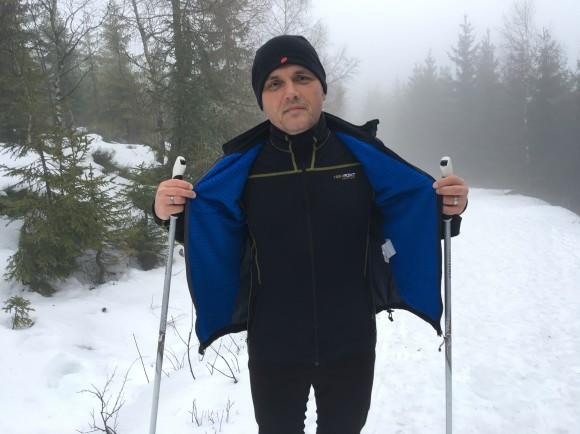 Tepelná záloha na běžkách