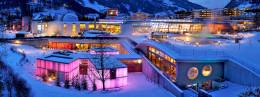 Alpské lázně v Bad Hofgastein občerství tělo i ducha.